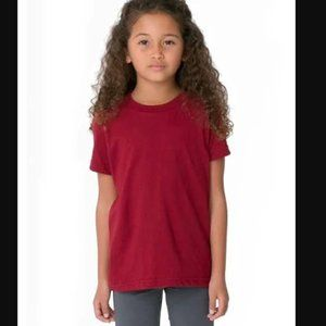 American Apparel Toddler Fine Jersey Short-Sleeve